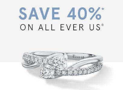 Save 40% on All Ever Us from Kay Jewelers