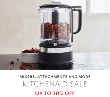 Up to 30% Off KitchenAid Sale