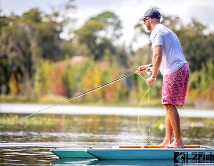 Live Watersports x Vineyard Vines L2Fish Camo Paddle Board