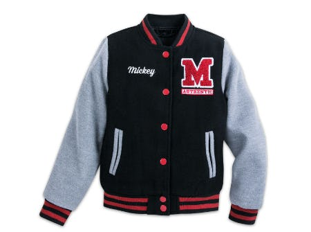 Mickey Mouse Letterman Jacket for Kids from Disney Store