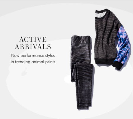 Active Arrivals from Neiman Marcus