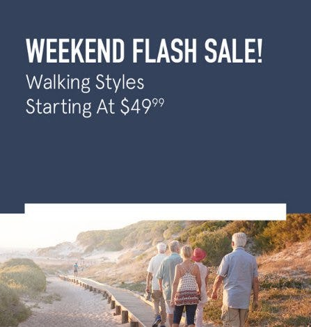 This Weekend Only: Walking Styles Starting at $49.99 from The Walking Company