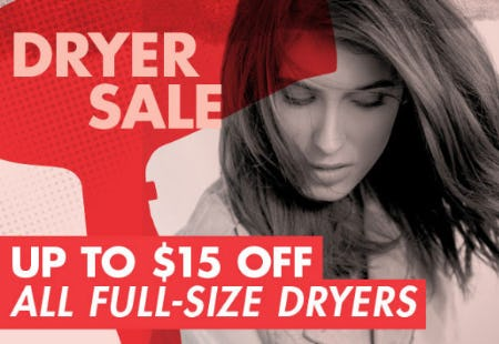 Dryer Sale Up to $15 Off from Sally Beauty Supply
