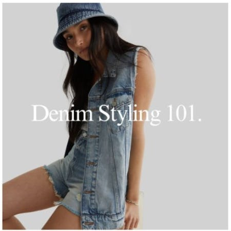 Denim 101 from Lucky Brand Jeans