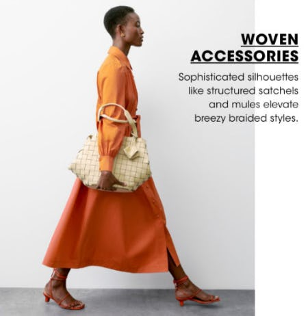 Woven Accessories from Bloomingdale's