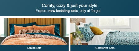 Explore New Bedding Sets from Target