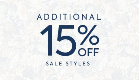 Additional 15% Off Sale Styles from Janie and Jack