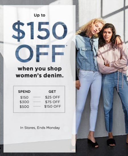 Up to $150 Off with $500 Purchase from Saks Fifth Avenue