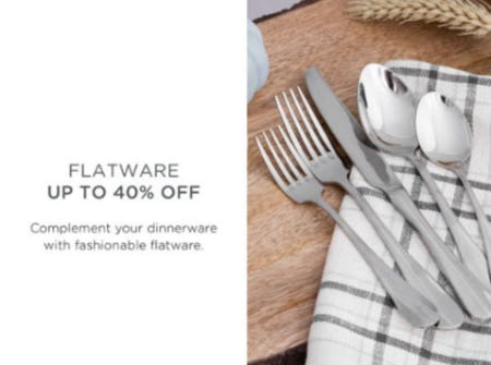 Flatware Up to 40% Off from Kirkland's