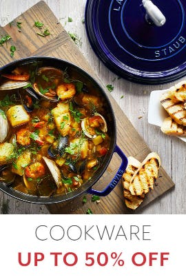 Up to 50% Off Cookware from Sur La Table