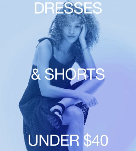 Dresses and Shorts Under $40 from Gap