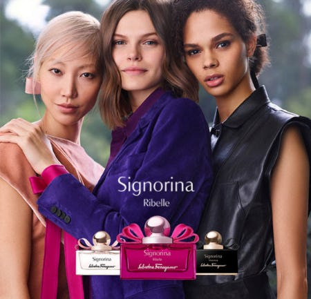 Signorina Ribelle The New Fragrance from Salvatore Ferragamo
