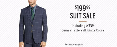 $199.99 Suit Sale