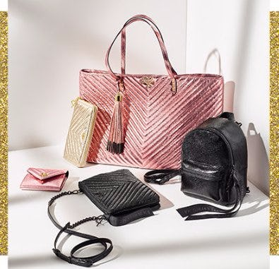New! Metallic Crackle Accessories Collection