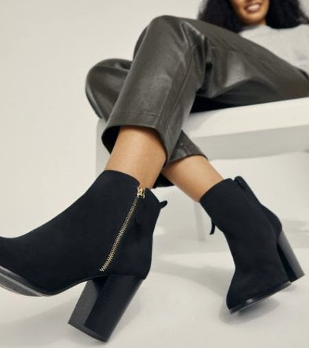 Versatile & Timeless Go-To Black Booties