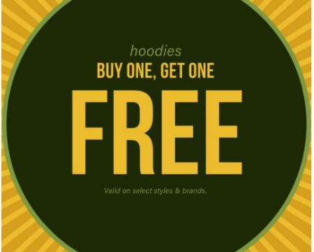 Hoodies Buy One, Get One Free