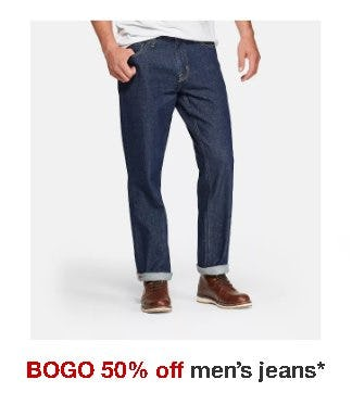 BOGO 50% Off Men's Jeans from Target
