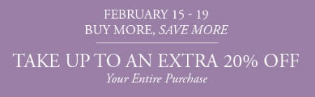 Extra 20% Off Your Entire Purchase from Gordon's Jewelers