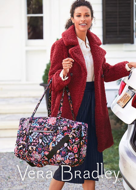 How clever! Meet Foxwood … from Vera Bradley