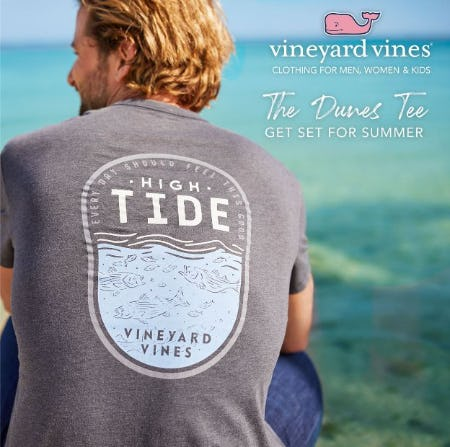 Chase The Good Life In New Arrivals from Vineyard Vines