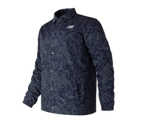 Classic Printed Coaches Jacket from New Balance