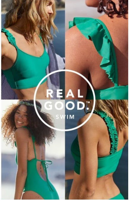 Eco-Friendly Swim: REAL GOOD Swim from Aerie