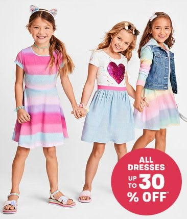 All Dresses up to 30% Off from The Children's Place