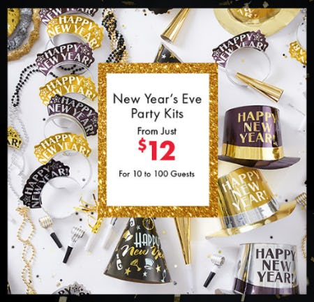 New Year's Eve Party Kits From Just $12 from Party City