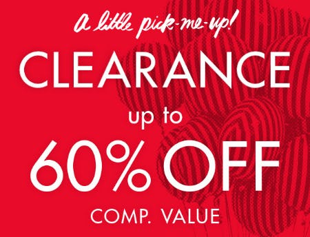 Clearance Up to 60% Off Comp. Value from DSW Shoes