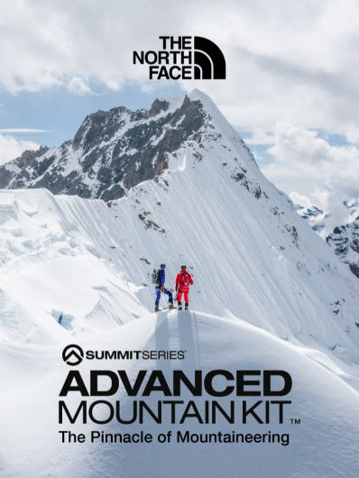 The Advanced Mountain Kit from The North Face