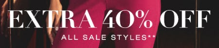 Extra 40% Off on All Sale Styles from BCBG