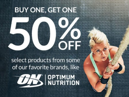 BOGO 50% Off Select Products from The Vitamin Shoppe