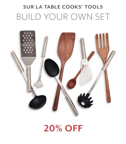 20% Off Sur La Table Cooks' Tools