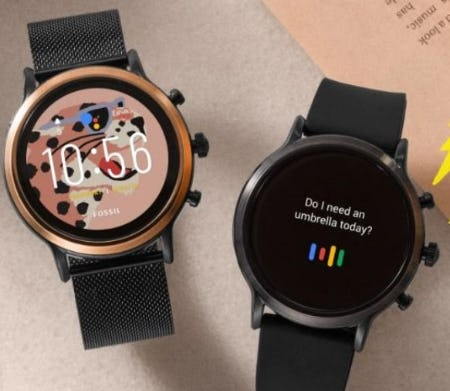 "Say ""Hi"" to Gen 5 Smartwatches from Fossil"