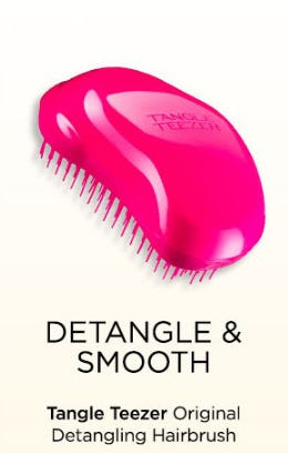 Tangle Teezer the Original Detangling Hairbrush from Blue Mercury
