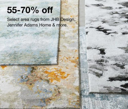 55-70% Off Select Area Rugs from JHB Design, Jennifer Adams Home & More from macy's