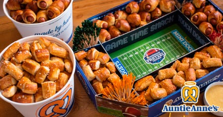 $45 Game Day Pretzel Pack from Auntie Anne's from Auntie Anne's