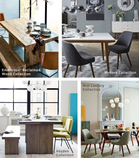 Meet Our Dining Collections from West Elm
