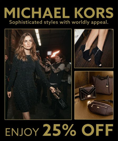 25% Off Michael Kors from Lord & Taylor