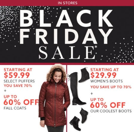 Up to 60% Off Black Friday Sale
