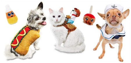 Halloween Pet Costumes from Petco Supplies & Fish