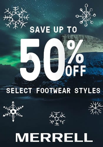 Merrell Black Friday Sales from Merrell