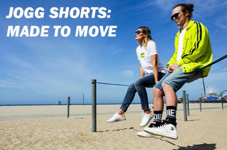 Jogg Shorts: Made to Move from Diesel