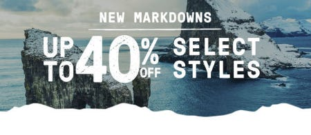 Up to 40% Off New Markdowns from Merrell
