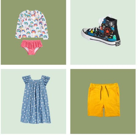 Cute Looks for Kids That Are Made Ready for Sunshine from Nordstrom