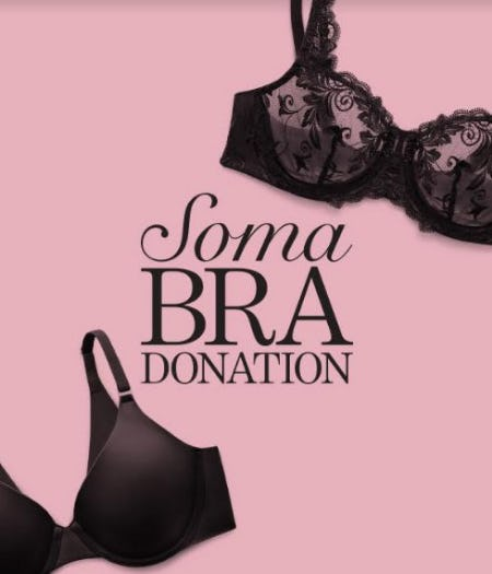 Soma Bra Donation