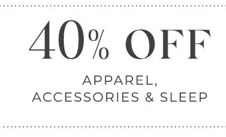 40% Off Apparel, Accessories & Sleep from Lane Bryant