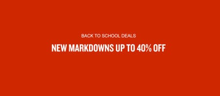 New Markdowns Up to 40% Off from Finish Line