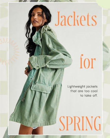 Three Words: Jackets for Spring from Free People