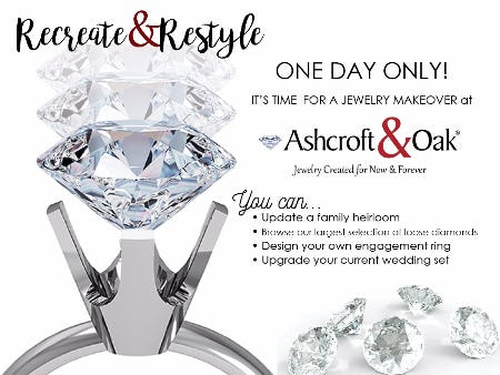 Jewelry RESTYLE Event, 1 Day Only!